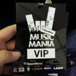 Blackberry Music Mania 2012