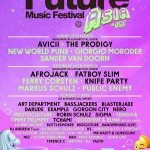 Future Music Festival Asia 2015 FULL LINE-UP