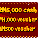 THR Raaga's Colorful Treasure Hunt : Win RM6500 worth of cash and prizes
