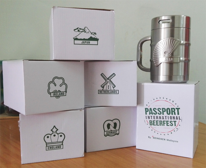 Win a 6 Passport International Beerfest Mugs