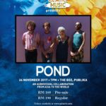 Tiger #UncageMusic presents POND Live in Malaysia