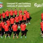 Liverpool Football Club and Carlsberg Toast 21 Year Partnership