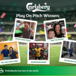Carlsberg Play on Pitch Winner