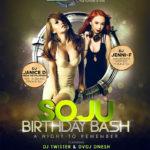 Soju Birthday Bash feat. DJ Janice D & DJ Jenni F