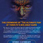 Tiger FC Big Away Game 2017 Finale